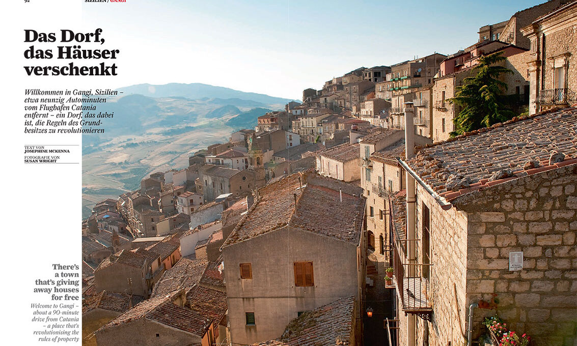 Sicily, free houses in Gangi